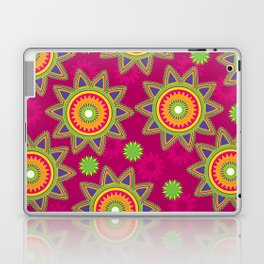 Moroccan Flower Wine Laptop & iPad Skin