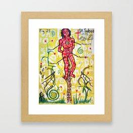 St. Sebastian Framed Art Print