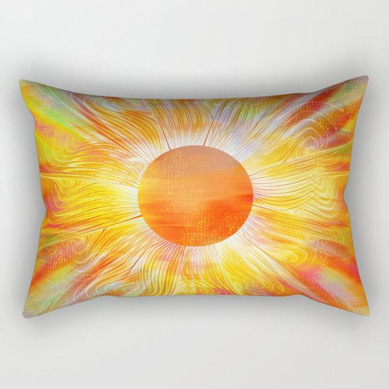 While the Sun Shines Rectangular Pillow
