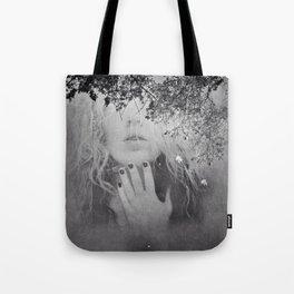 Soul - surreal dreamy portrait, woman nature photo, spiritual portrait Tote Bag