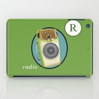transistor iPad Cases featuring Transistor Radio Flash Card by paper moon projects