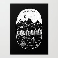 Let's Get Lost III Canvas Print