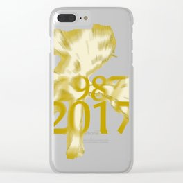 u2's joshua tree 2017 Clear iPhone Case