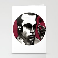 nick cave Stationery Cards featuring Nick Cave by Rafols