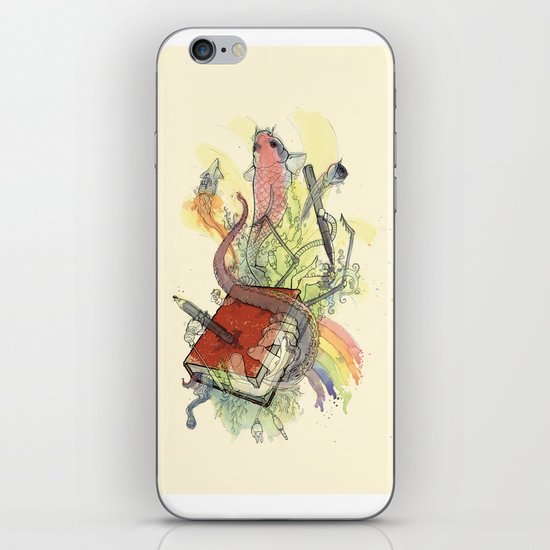 Sketchbook Life iPhone & iPod Skin