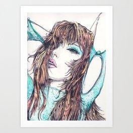 Selina Art Print