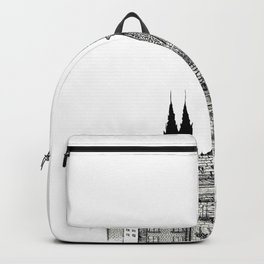 City view of paris Backpack