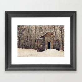 Mission Chapel Framed Art Print