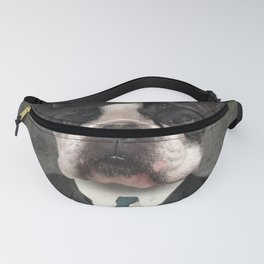 Sir Duncan - Boston Terrier Portrait Fanny Pack
