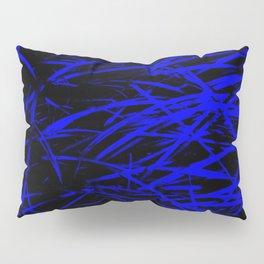 Blue Blades Pillow Sham