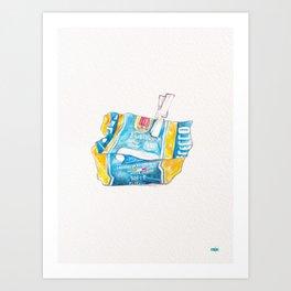 Pasta Art Print
