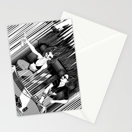 It's better than safe. It's death proof Stationery Cards