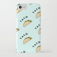taco iPhone & iPod Cases featuring Taco by callto726