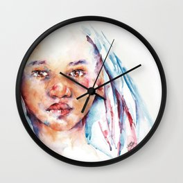 Live for the Dream Wall Clock