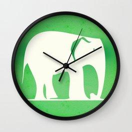 Sweet Elephant Wall Clock