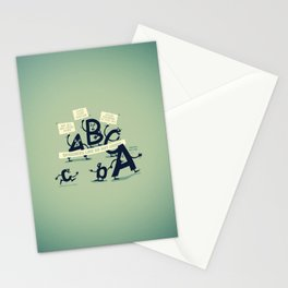 Type Rights Stationery Cards