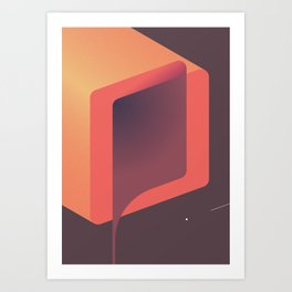Geometric composition 13 Art Print