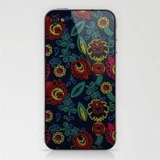 Embroidery iPhone & iPod Skin