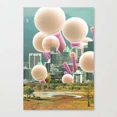 atmosphere 53 · Dot City Canvas Print