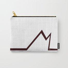 M RED LETTER #minimal #art #design #kirovair #buyart #decor #home Carry-All Pouch