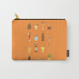 Tiki Drinks Carry-All Pouch