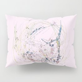 Distressed Gold Nest Pillow Sham