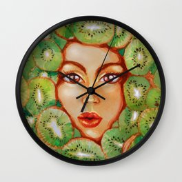 Waterkiwi Wall Clock