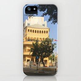 Tel Aviv Pagoda House - Israel iPhone Case