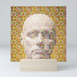 Thoughts dot pattern  Mini Art Print