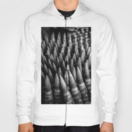 Rounds for Rounds Black and White Hoody