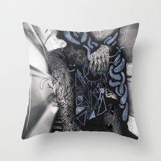 Psychoactive Bear 6 Throw Pillow