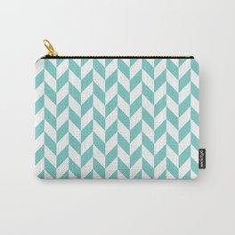 Tiffany Herringbone Pattern Carry-All Pouch