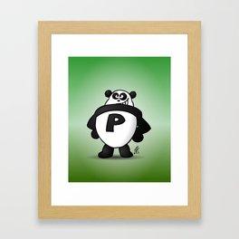 Panda Power Framed Art Print