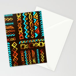 Bold Ethnic pattern n.5 Stationery Cards