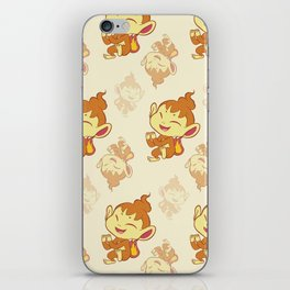 Chimchar Repeating Pattern iPhone Skin