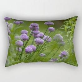 Herb Garden Chives Tarragon Parsley Rectangular Pillow