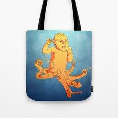 Travis (Octo-baby) Tote Bag