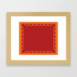 serape Framed Art Print