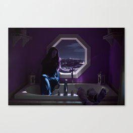 Queen of the Tub Canvas Print