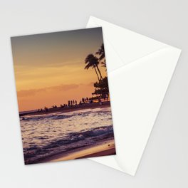 Sunset in Hawaii 0015 Stationery Cards