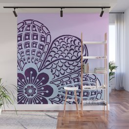 Floral Blush Wall Mural