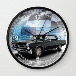 "1965 Pontiac GTO Decorative 10"" Wall Clock (010ac) Wall Clock"