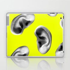 Listening to the voices Laptop & iPad Skin