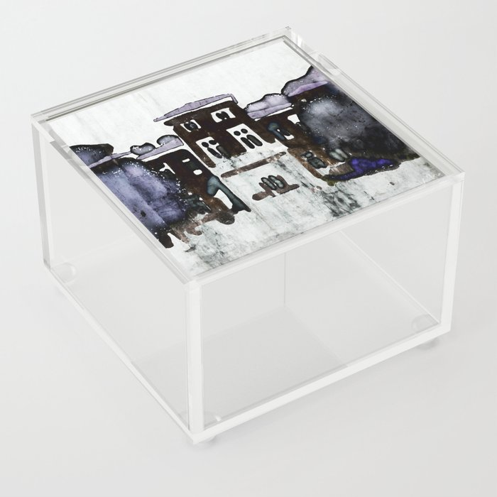 Manor House Acrylic Box
