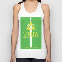 the legend of zelda Tank Tops featuring Legend of Zelda by CJones5105