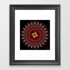 Fleuron Composition No. 226 Framed Art Print