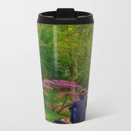 Central Park in Spring Metal Travel Mug