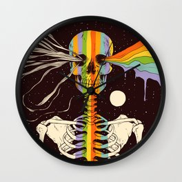 Dark Side of Existence Wall Clock