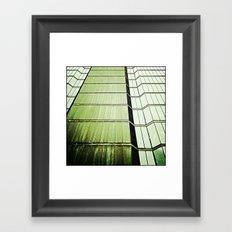 'BANK' Framed Art Print