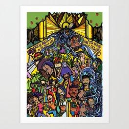 Revelation 22 Art Print